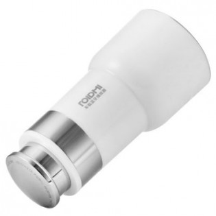 RoidMi 5 in 1 Music Bluetooth Car Charger 2 Classic BFQ03RM White