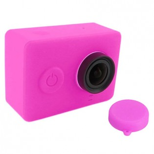 Yi Action Camera Silicone Protective Case Pink
