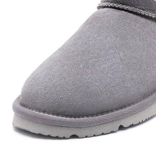 UREVO Casual Wool Boots Gray 36