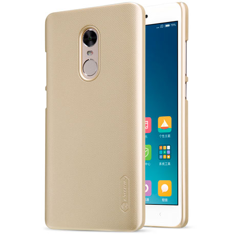Xiaomi Redmi Note 4X Nillkin Frosted Shield Hard Case Gold
