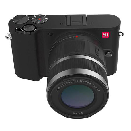 Yi M1 Mirrorless Digital Camera Zoom Lens Chinese Version Black